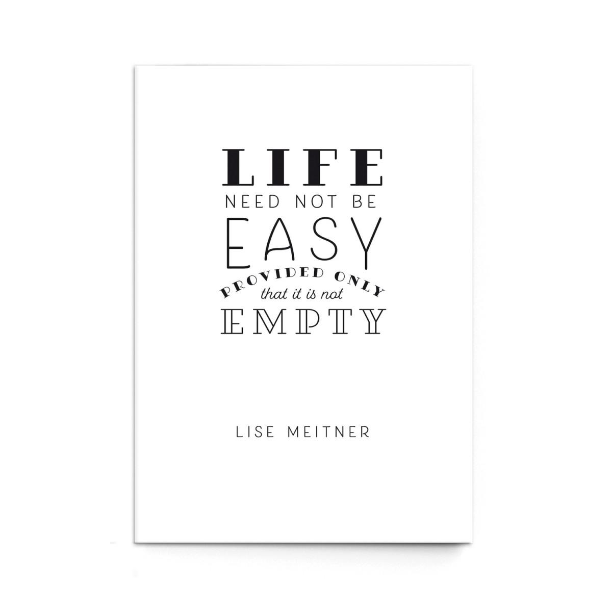 """sonst noch was? Postkarte """"Easy"""" (3er Set)"""