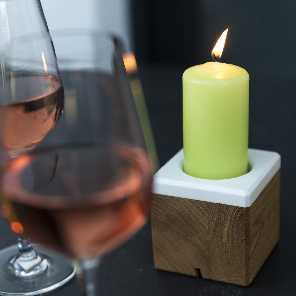Kerzenständer kandelo | Kerzenhalter | Kerzenleuchter | Hochzeitsdeko | Holzbutiq