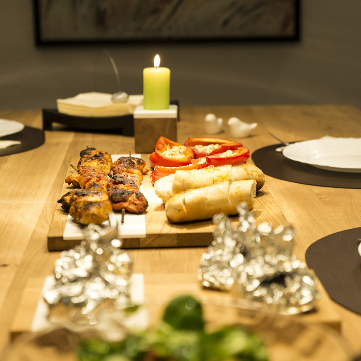 Kerzenständer kandelo, Design Kerzenhalter aus Holz | Deko Kerzenständer