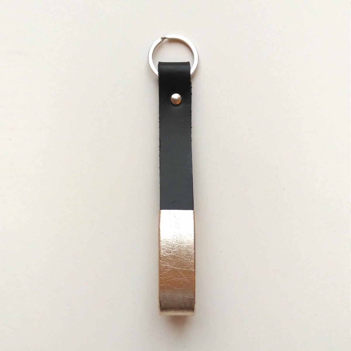 GROTKOP COLLECTION Schlüsselanhänger SCHWARZ/HELL GOLD