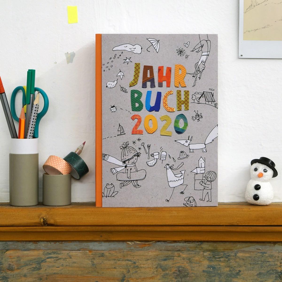 sperlingB – Kinderjahrbuch, Kalender-Jahrbuch für Kinder, Ausgabe 2020