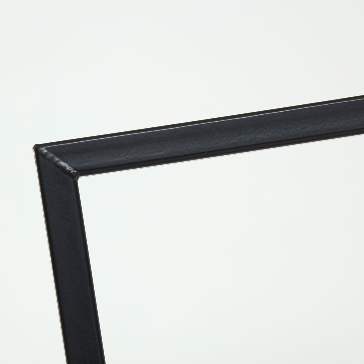 Industrial Design Kleiderständer - skandinavisch geschweisst & schwarz pulverbeschichtet - Garderobenständer SIMPLE LOVE