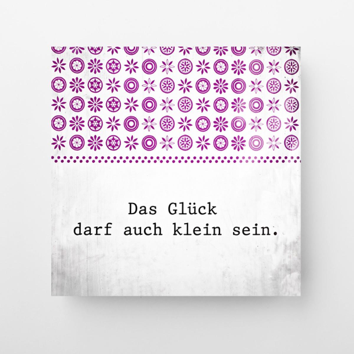 """München im Quadrat - """"kleines Glück"""""""