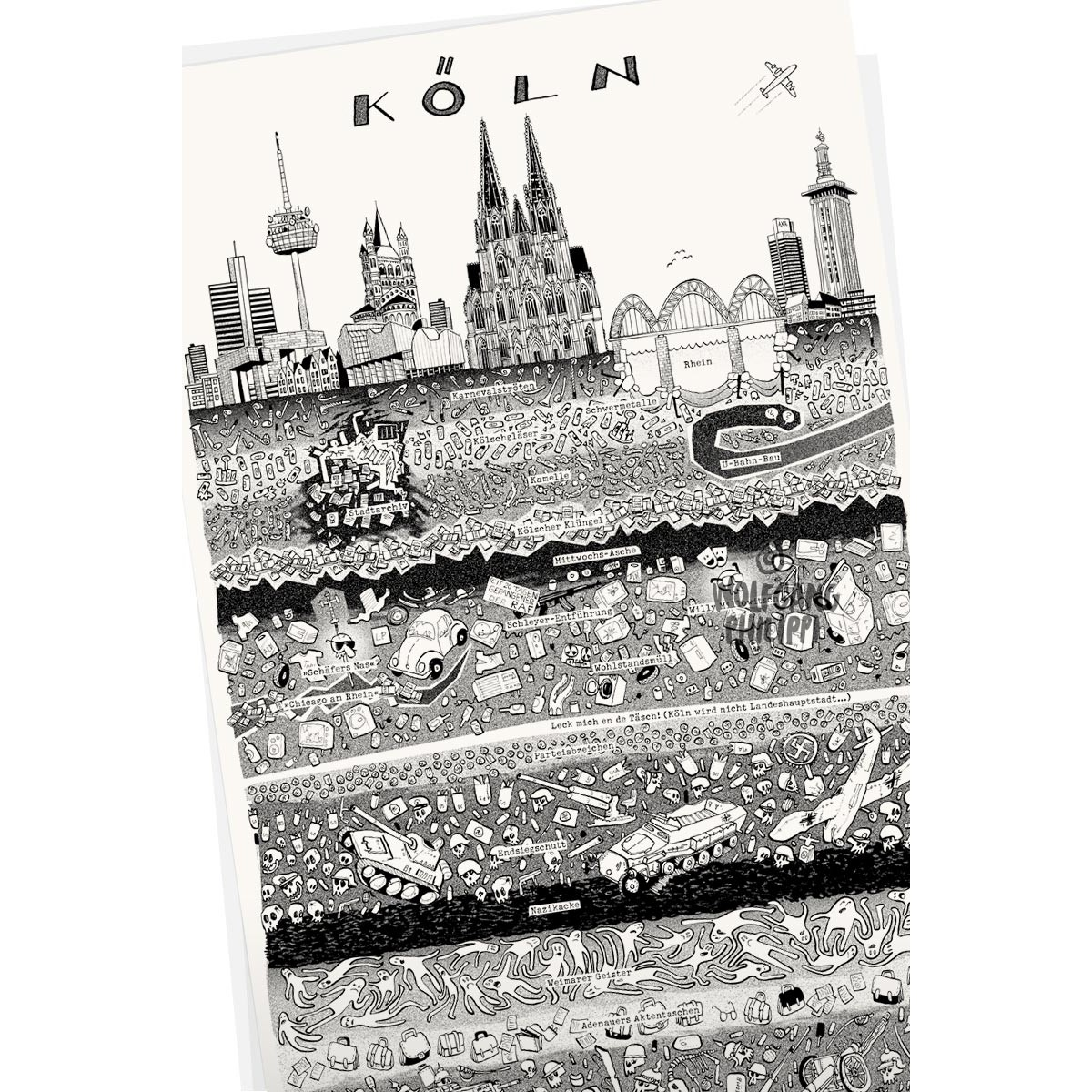 Wolfgang Philippi Köln Plakat