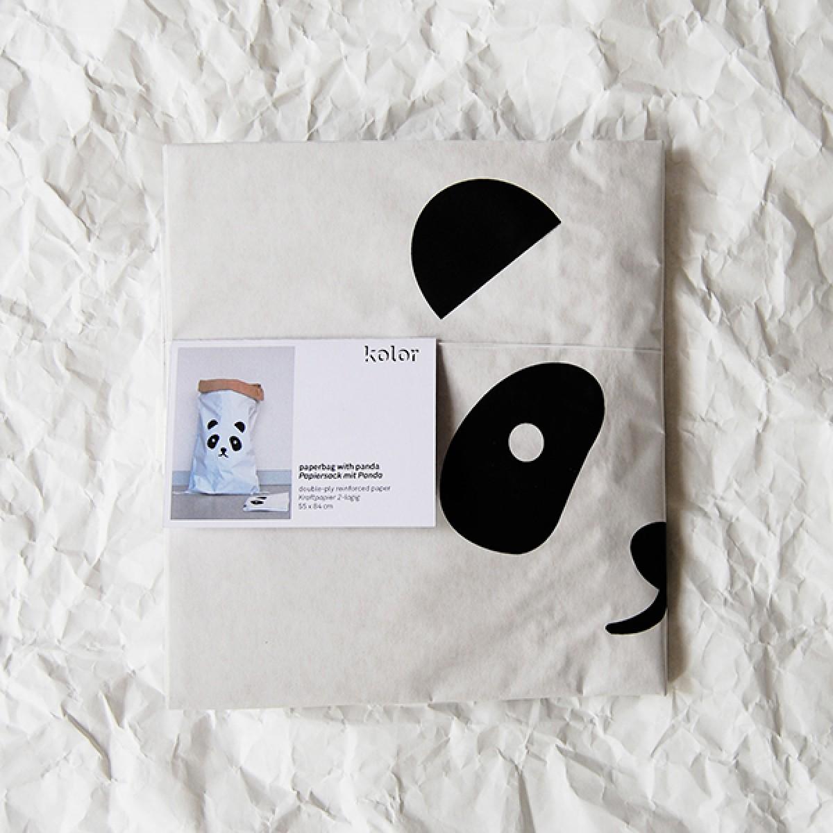 kolor Papiersack Panda