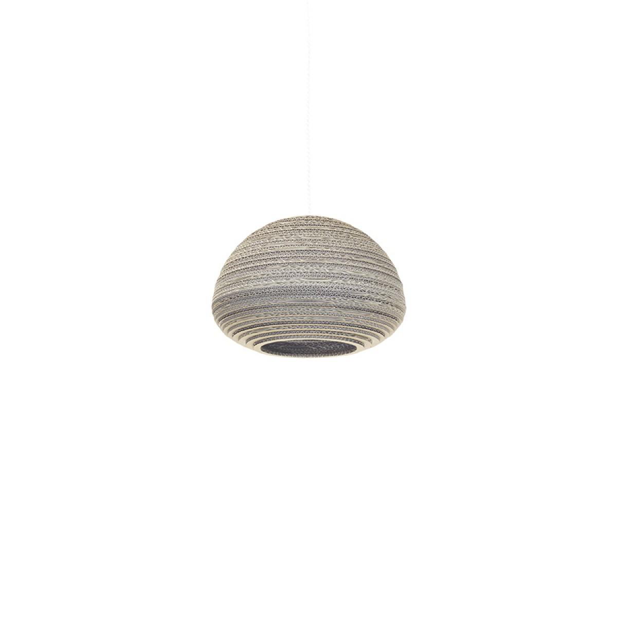 Cardboard lampshade, n3, type B - Hängelampe