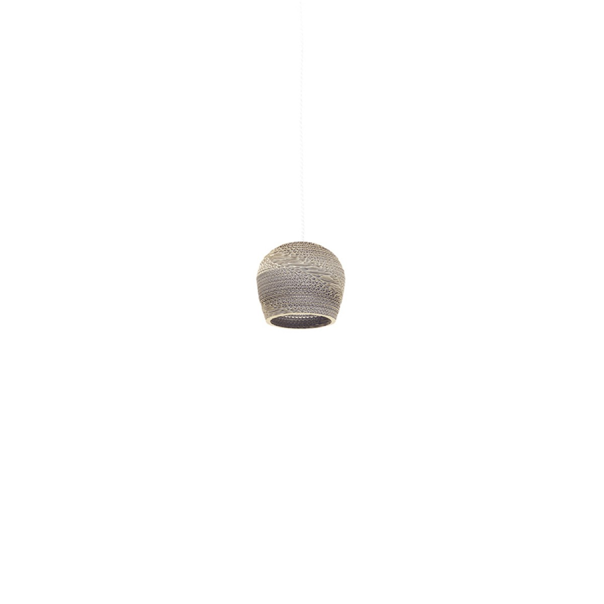 Cardboard lampshade, n9, type A - Hängelampe