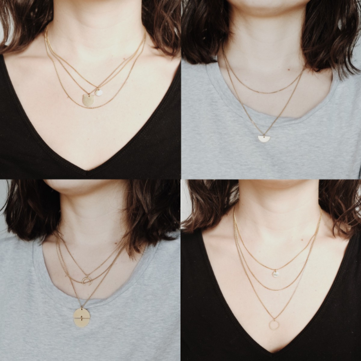 BRASSCAKE // Coin Necklace