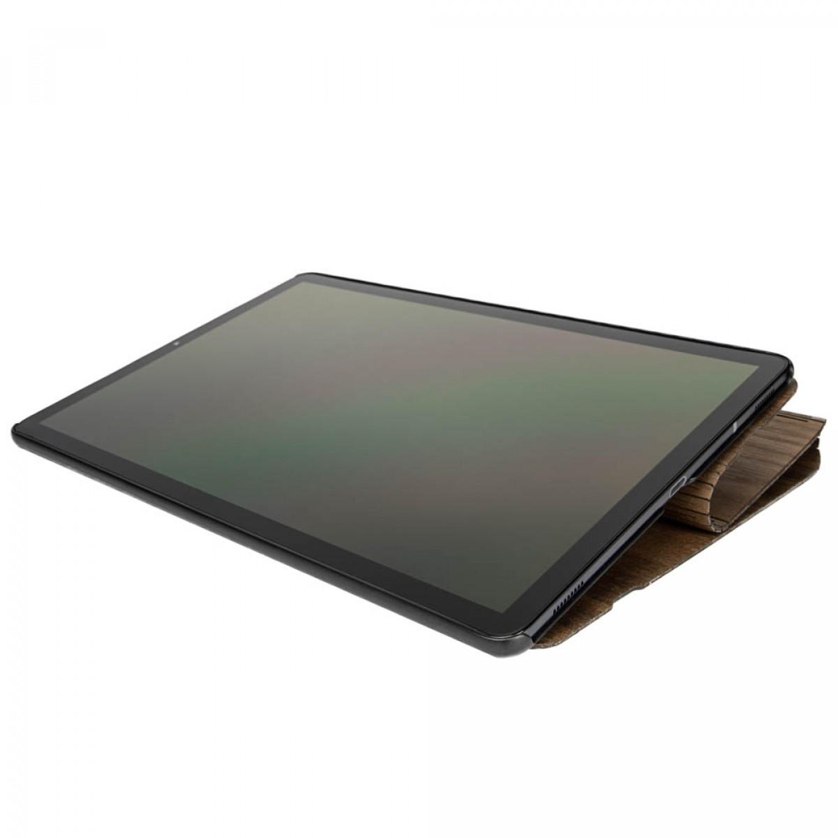 JUNGHOLZ Design WoodCase, Tablet, Walnuss, Samsung Galaxy Tab S5e