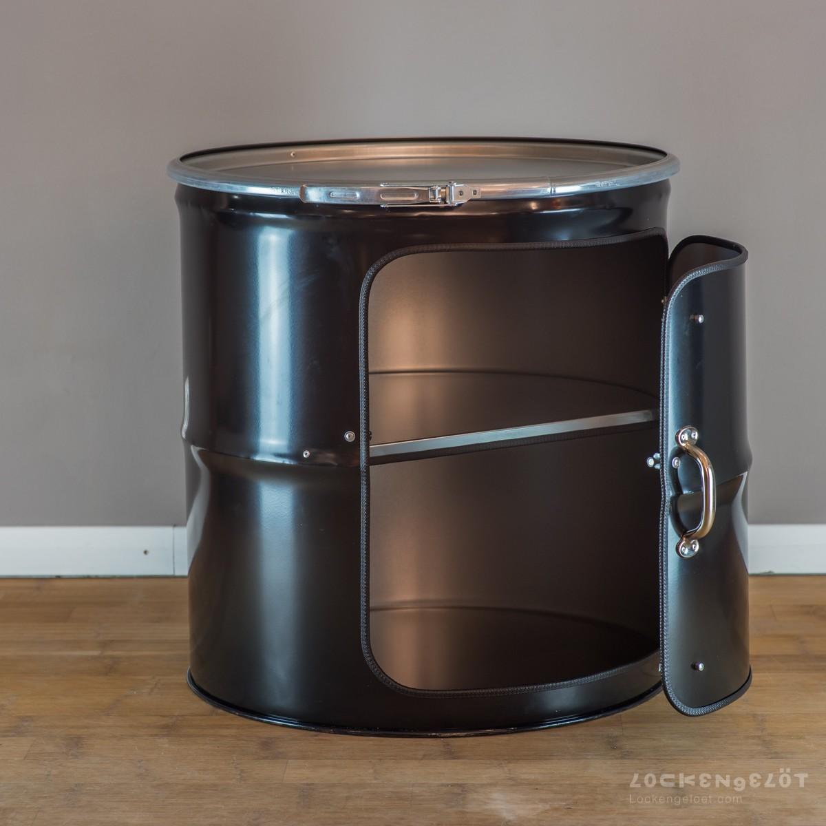 Lockengelöt Schränk Medium - Schrank aus einem Ölfass