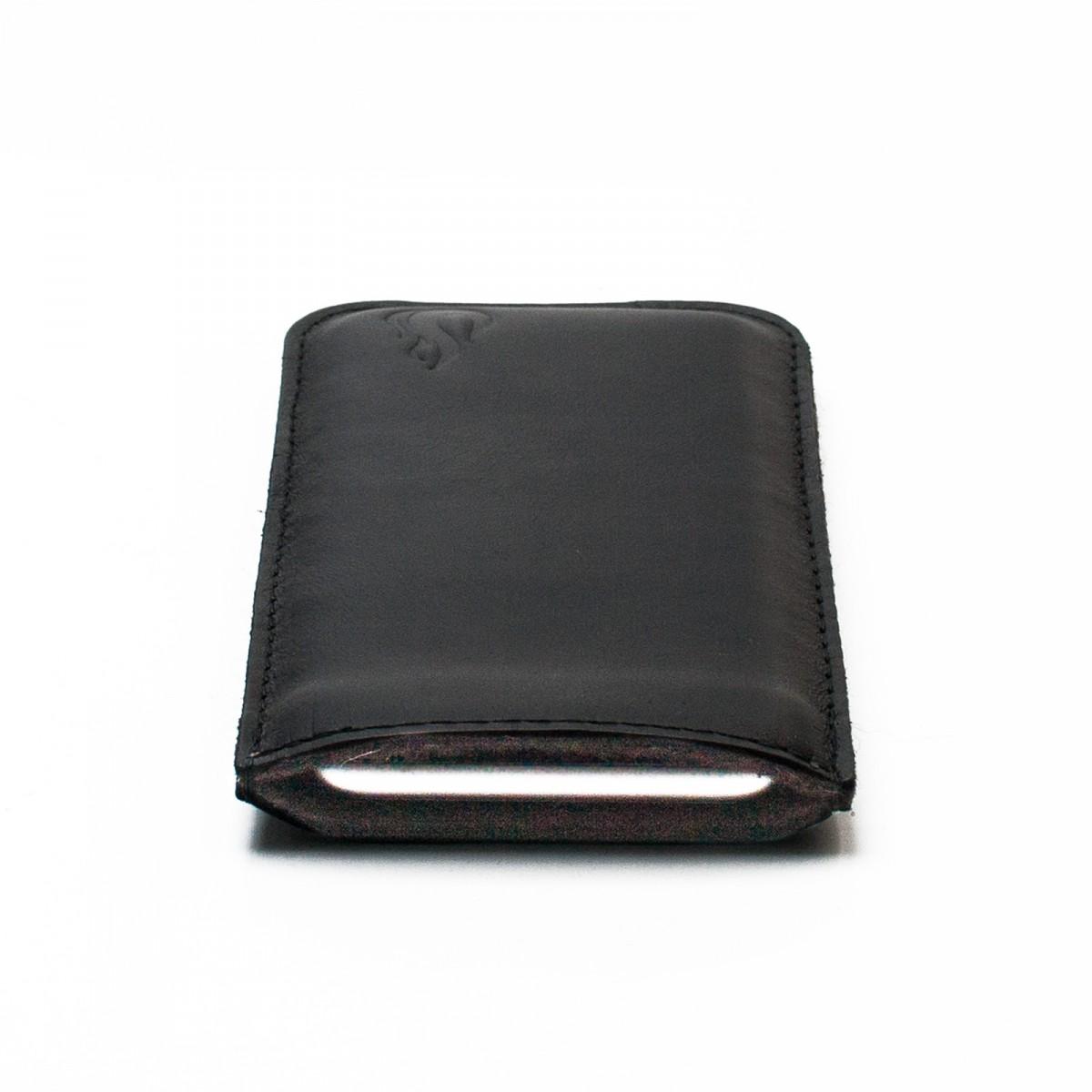 Love Leather iPhone 6 / iPhone 7 - black (Leder)