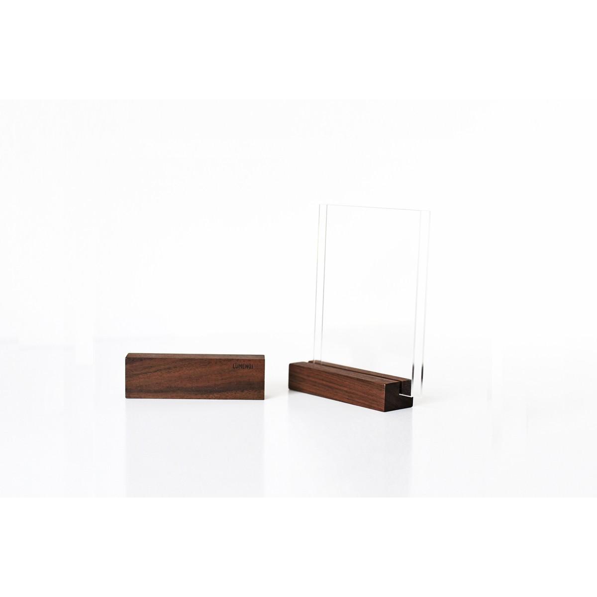 Design Tischaufsteller