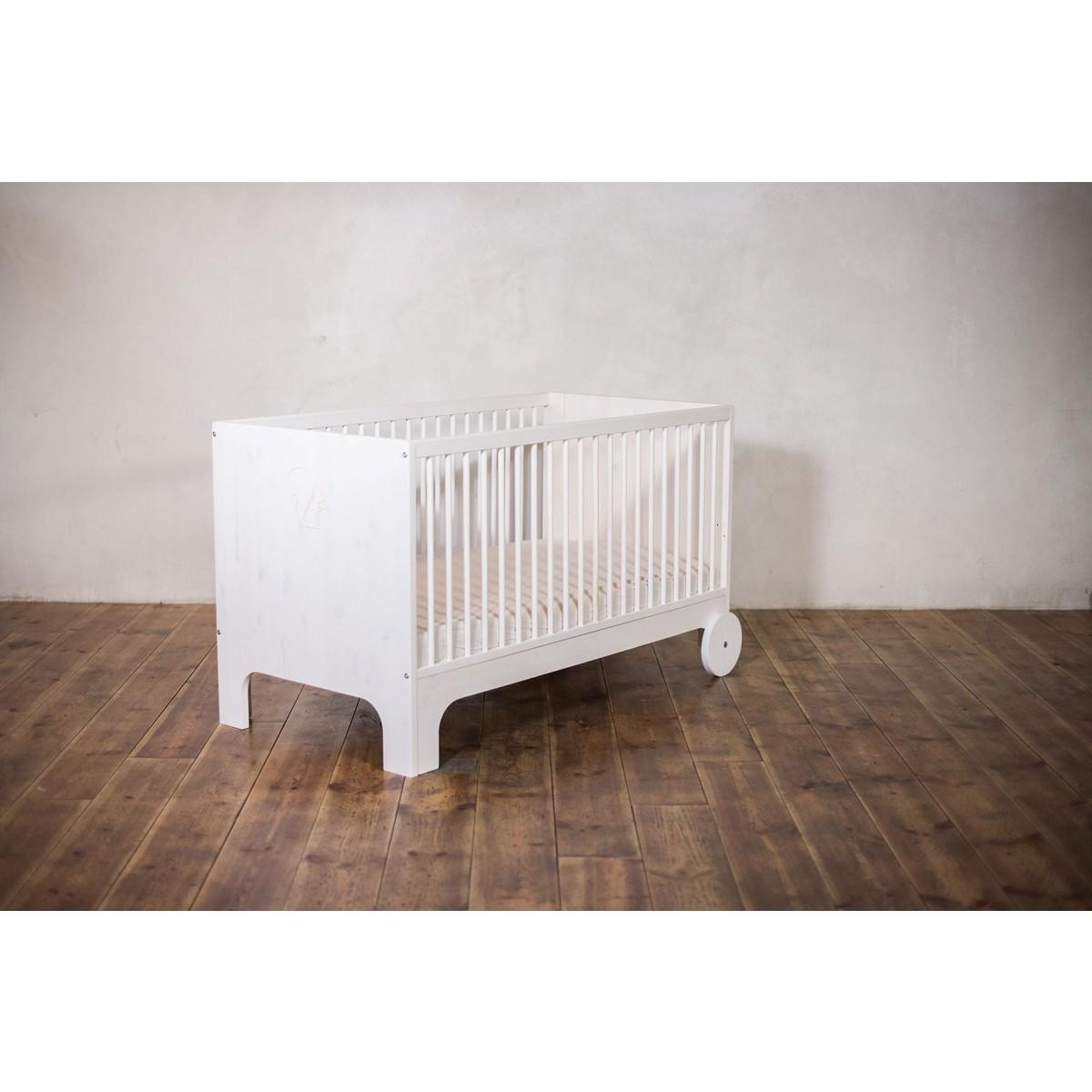ekomia Babybett Lumy - weiß