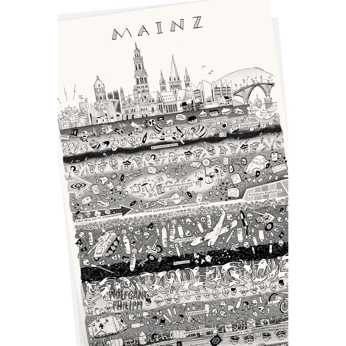 Wolfgang Philippi Mainz Plakat