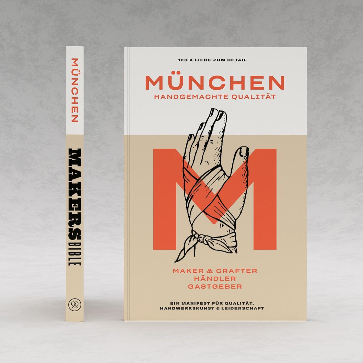 """Makers Bible """"München"""" – Handgemachte Qualität"""