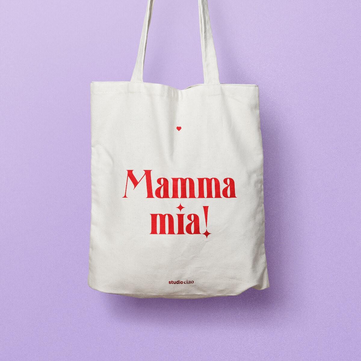 Mamma Mia Jutebeutel (limitierte Auflage) – studio ciao