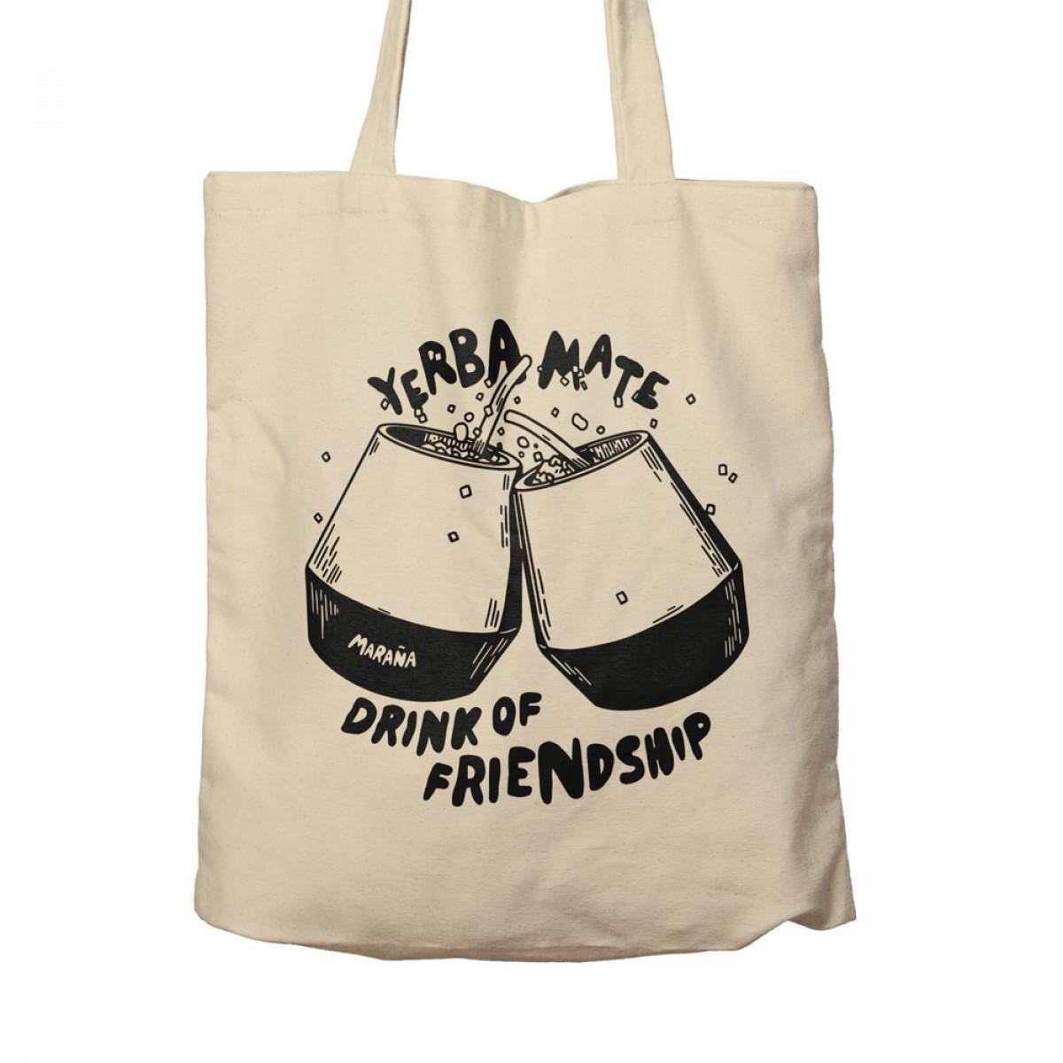 "Maraña Yerba Mate Tee Stoffbeutel ""Drink of Friendship"""