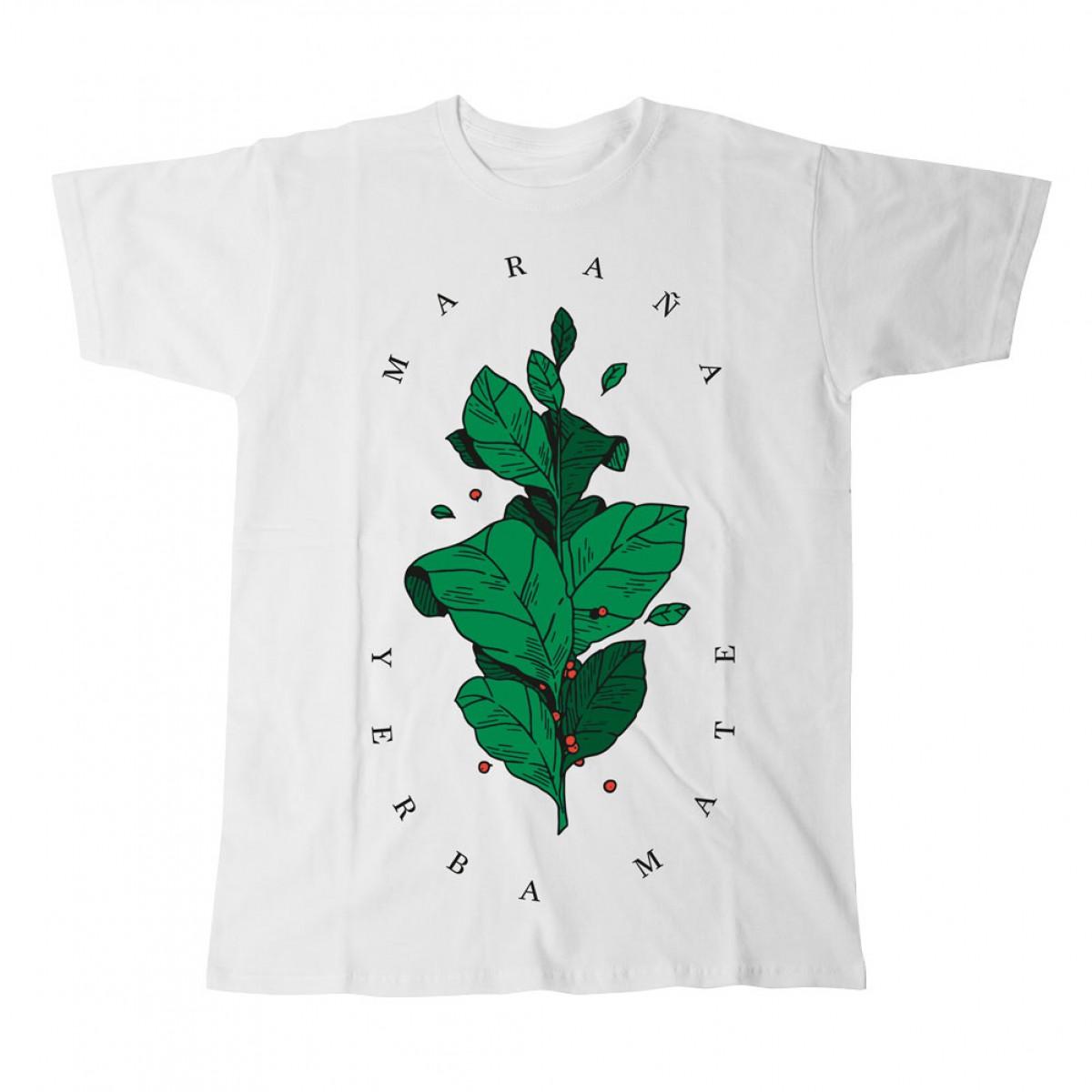 "Maraña T-Shirt ""Yerba Mate Tee Leaf"" Damen"