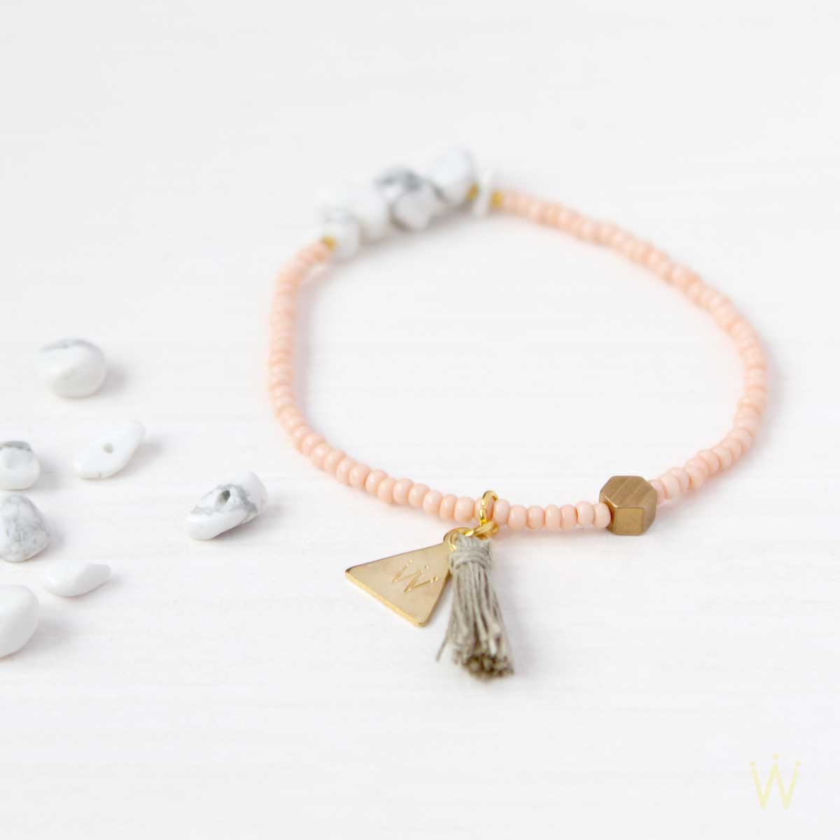'Marbleous Yoga' clean Armband von Weiskönig Jewelry
