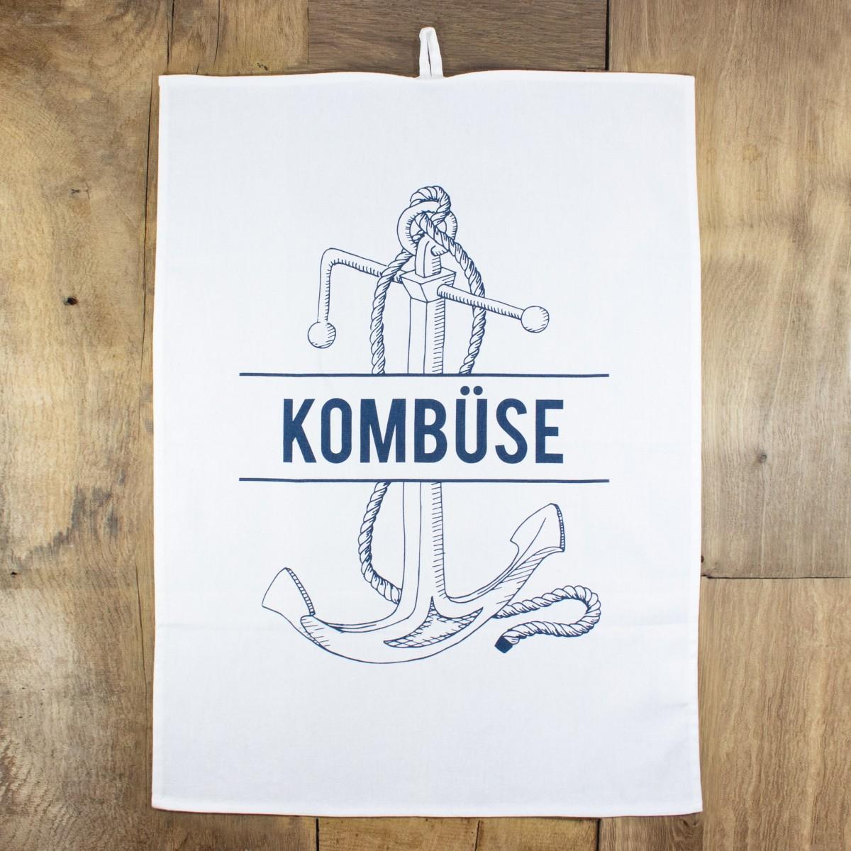 """Bow & Hummingbird Geschirrtuch """"Kombüse"""""""