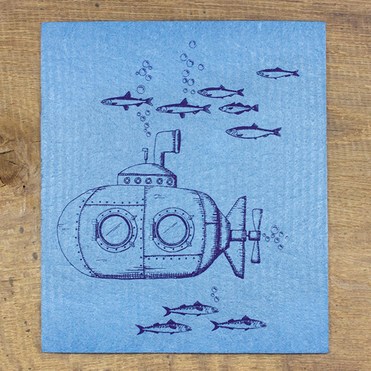 Bow & Hummingbird Schwammtücher U-Boot (3 Stück)