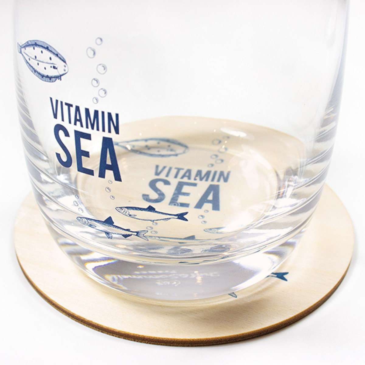 """Bow & Hummingbird Kristallglas """"Vitamin Sea"""""""