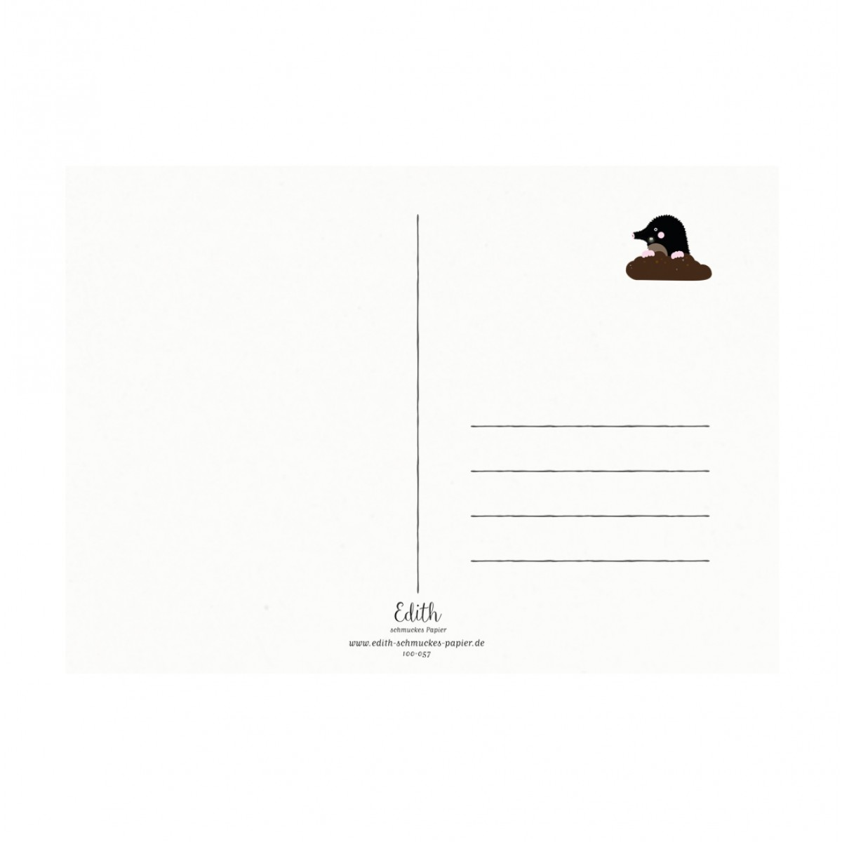 "Edith schmuckes Papier ""Hello Sunshine - Postkarte Set"" mit 2 Postkarten"
