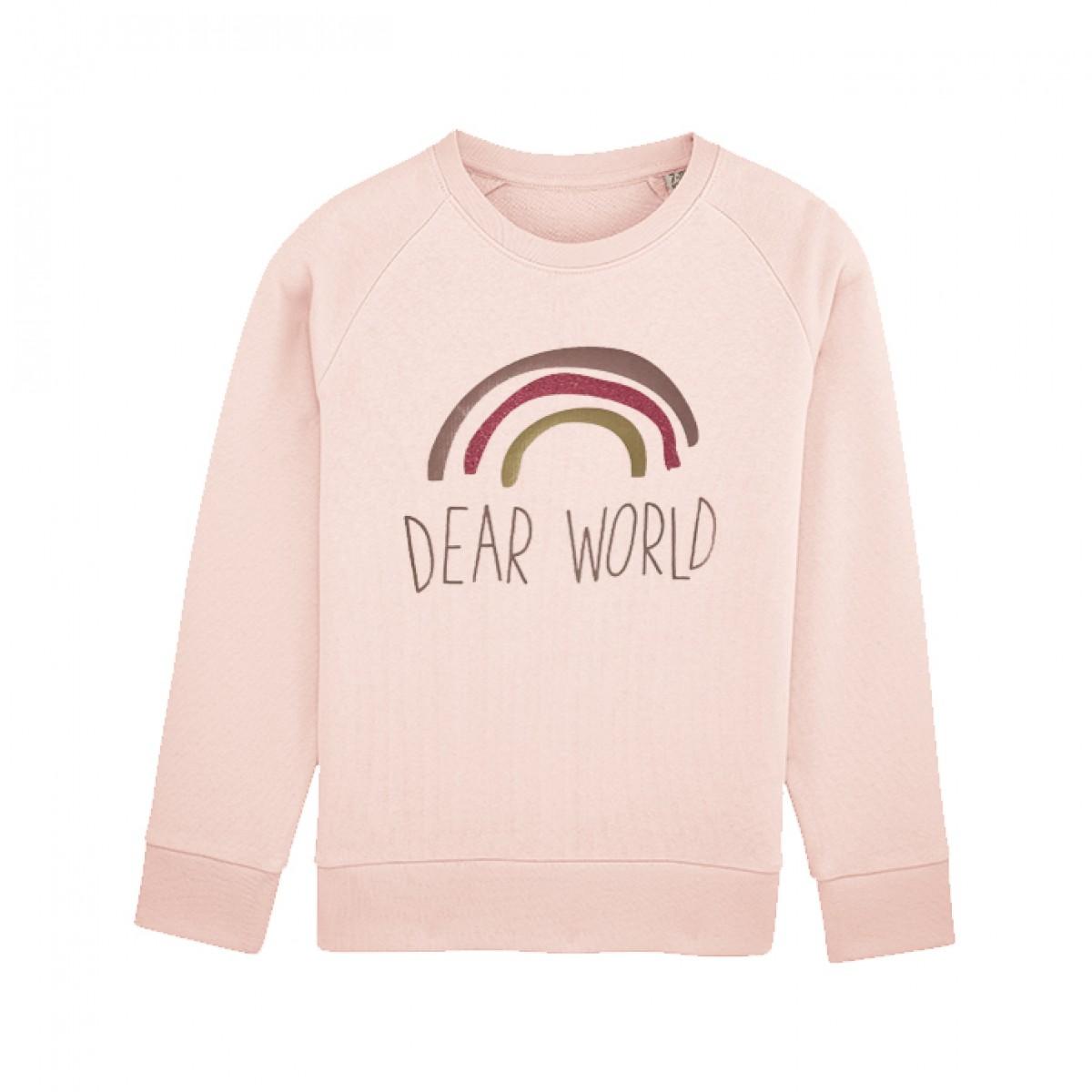 melike Kinder Sweatshirt Dear World