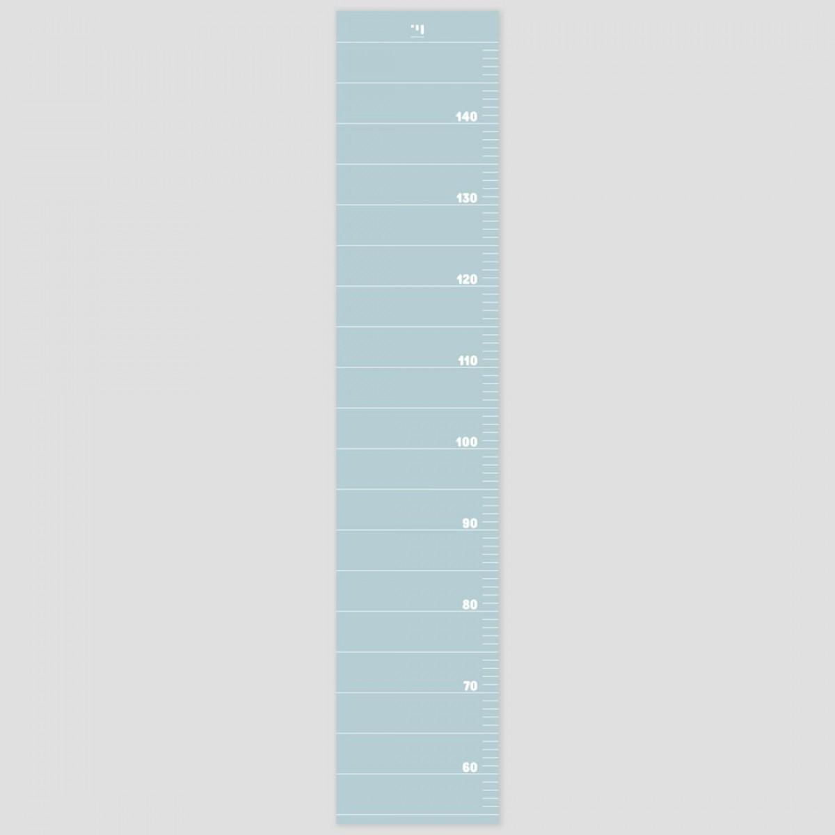 punktkommastrich - Messlatte für Kinder - starlight blue