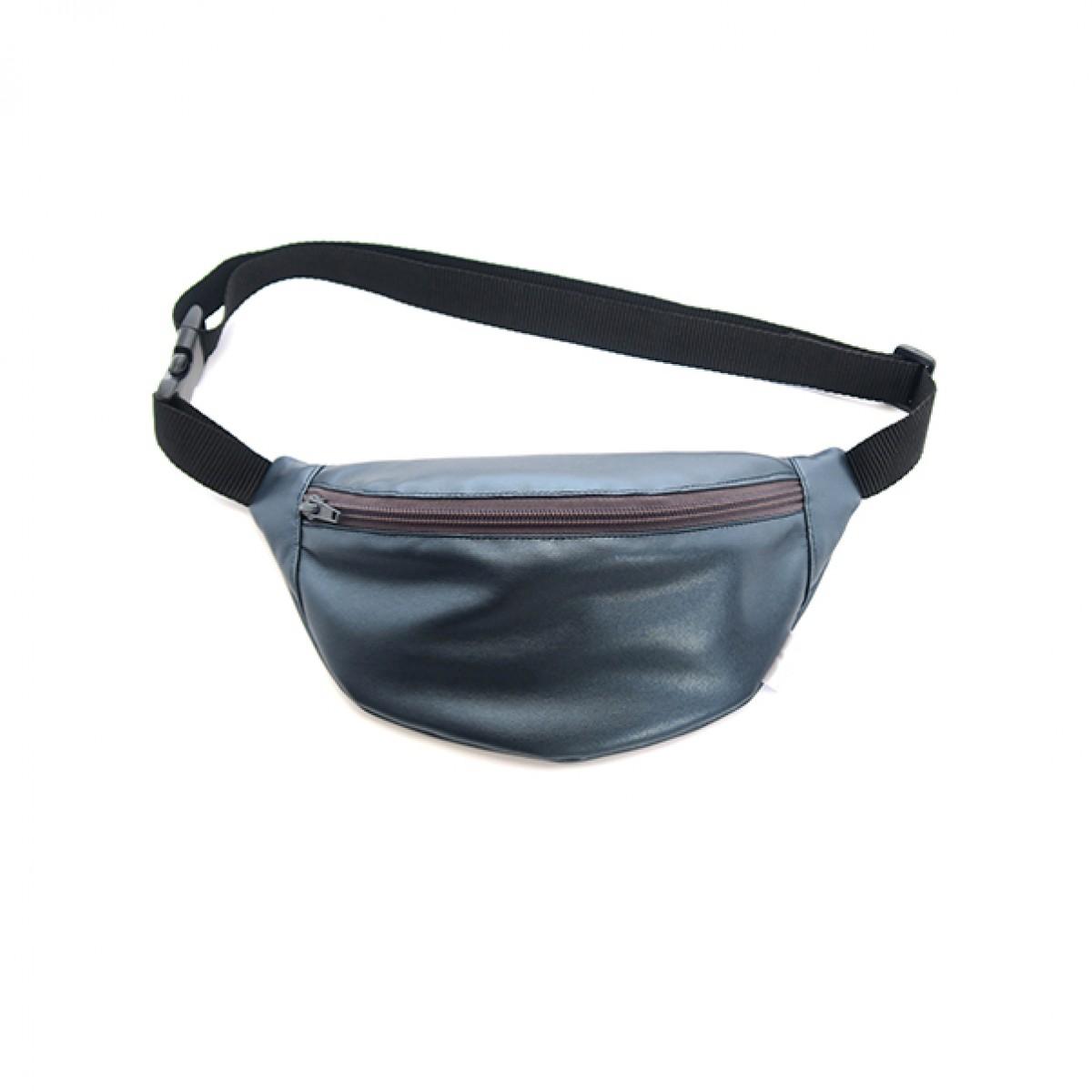 FINSTER hipbag metallic blue