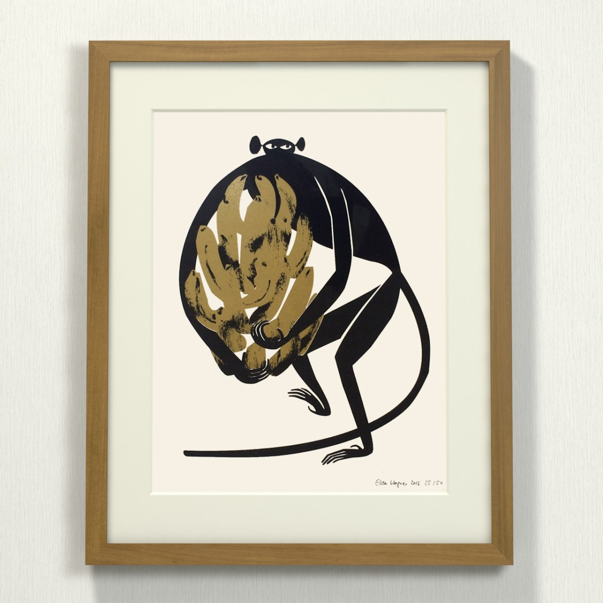 Print now - Riot later ● Midcentury Ape Siebdruck