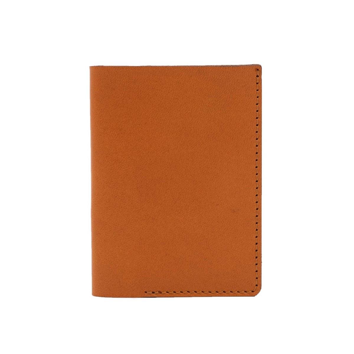 Mini Portemonnaie in cognac - aus premium pflanzlich gegerbtem Leder