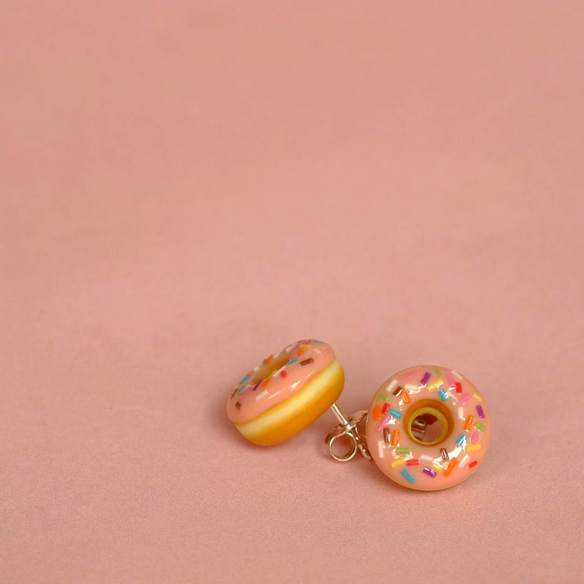 "minischmidt miniDONUT ""pink sprinkles"" Ohrstecker"