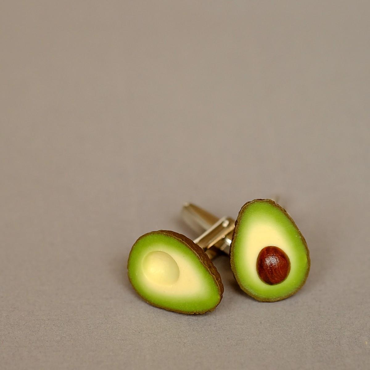 minischmidt miniGARTEN Avocado Ohrring Paar