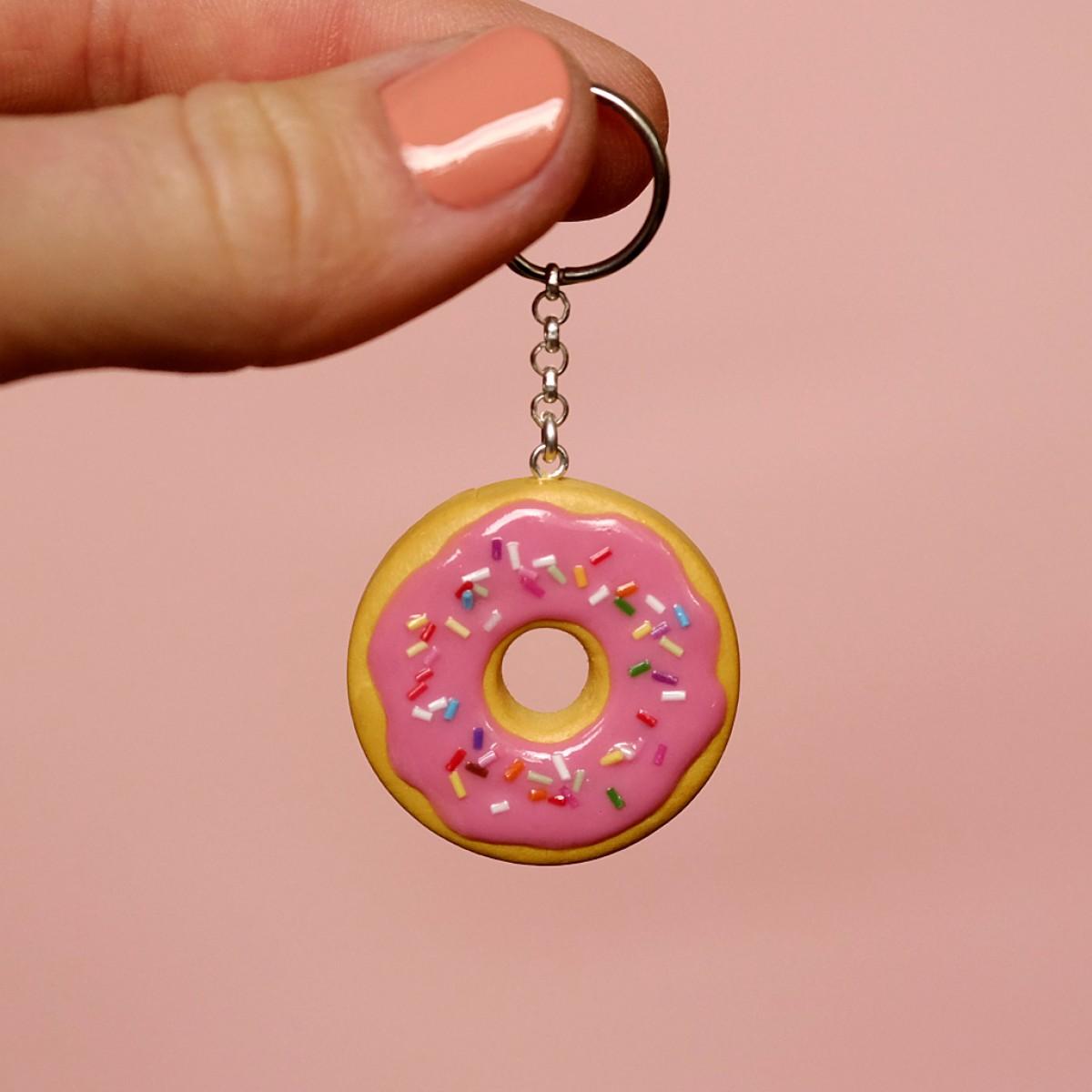 "minischmidt miniKEKS Schlüsselanhänger ""Donut"""