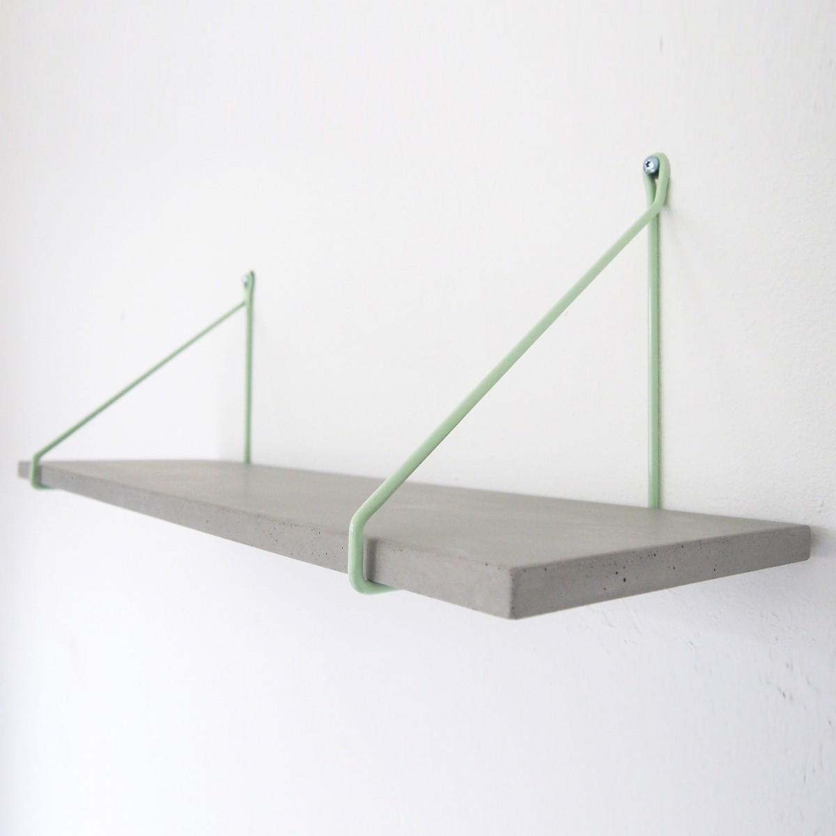 moij design Uphangen - Betonregal 60 cm