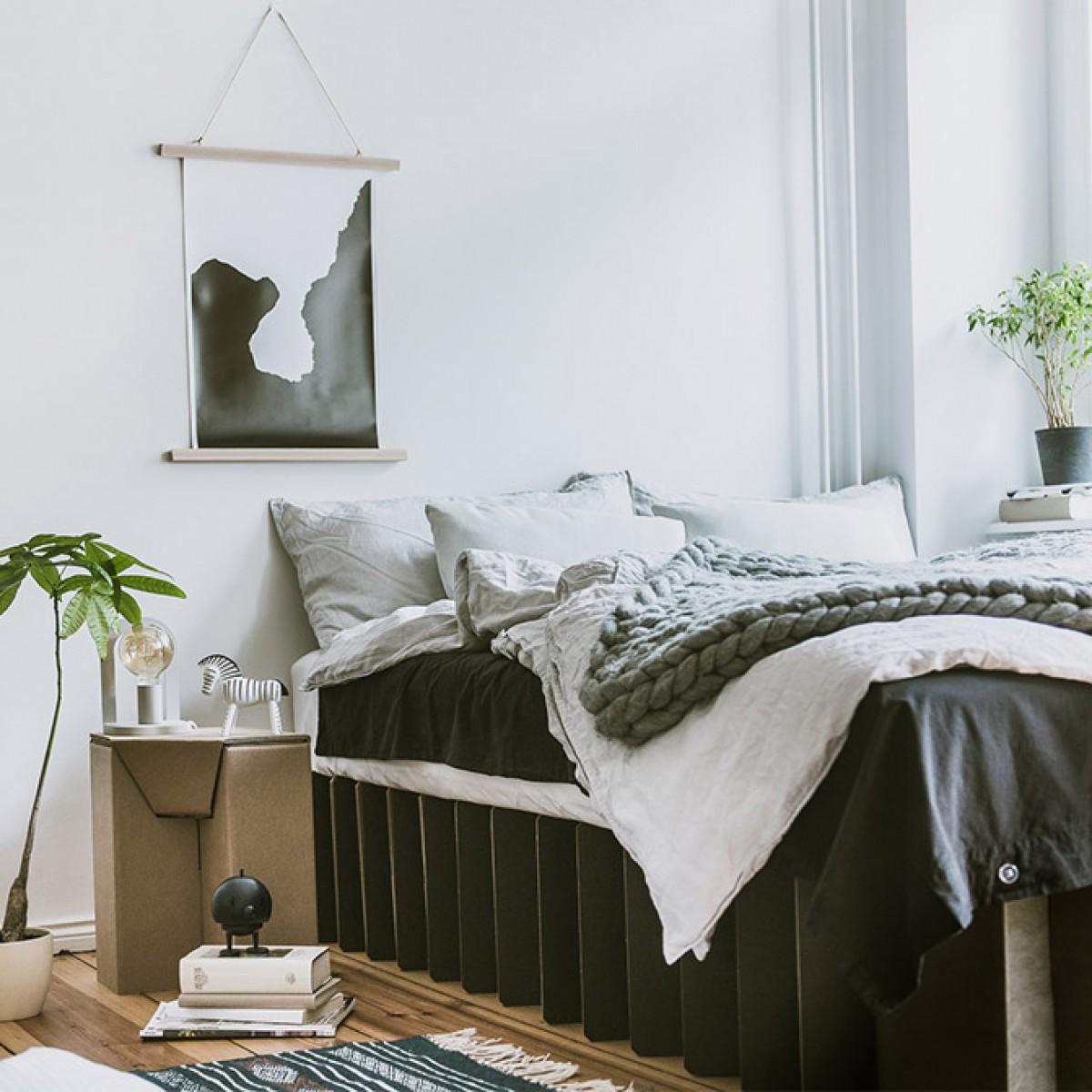 Das Bett 2.0 (schwarz) | ROOM IN A BOX