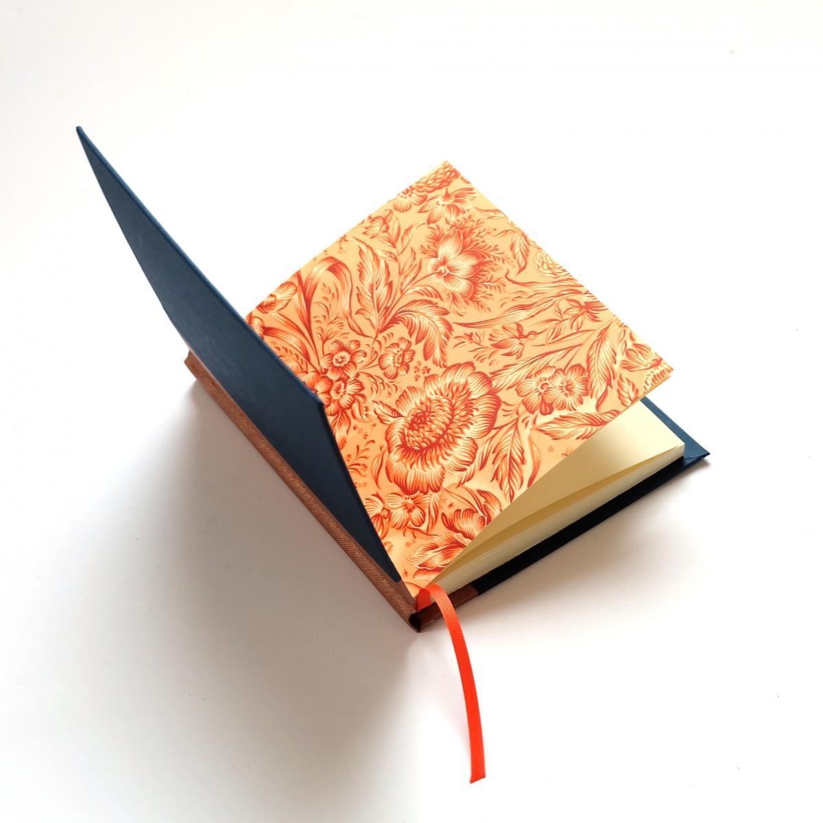 Poesiealbum - Tagebuch kupfer nachtblau