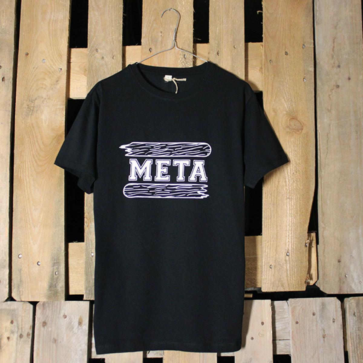 "KINDERGELD ORGANIC Classic T-Shirt ""BERND"" (META) schwarz"