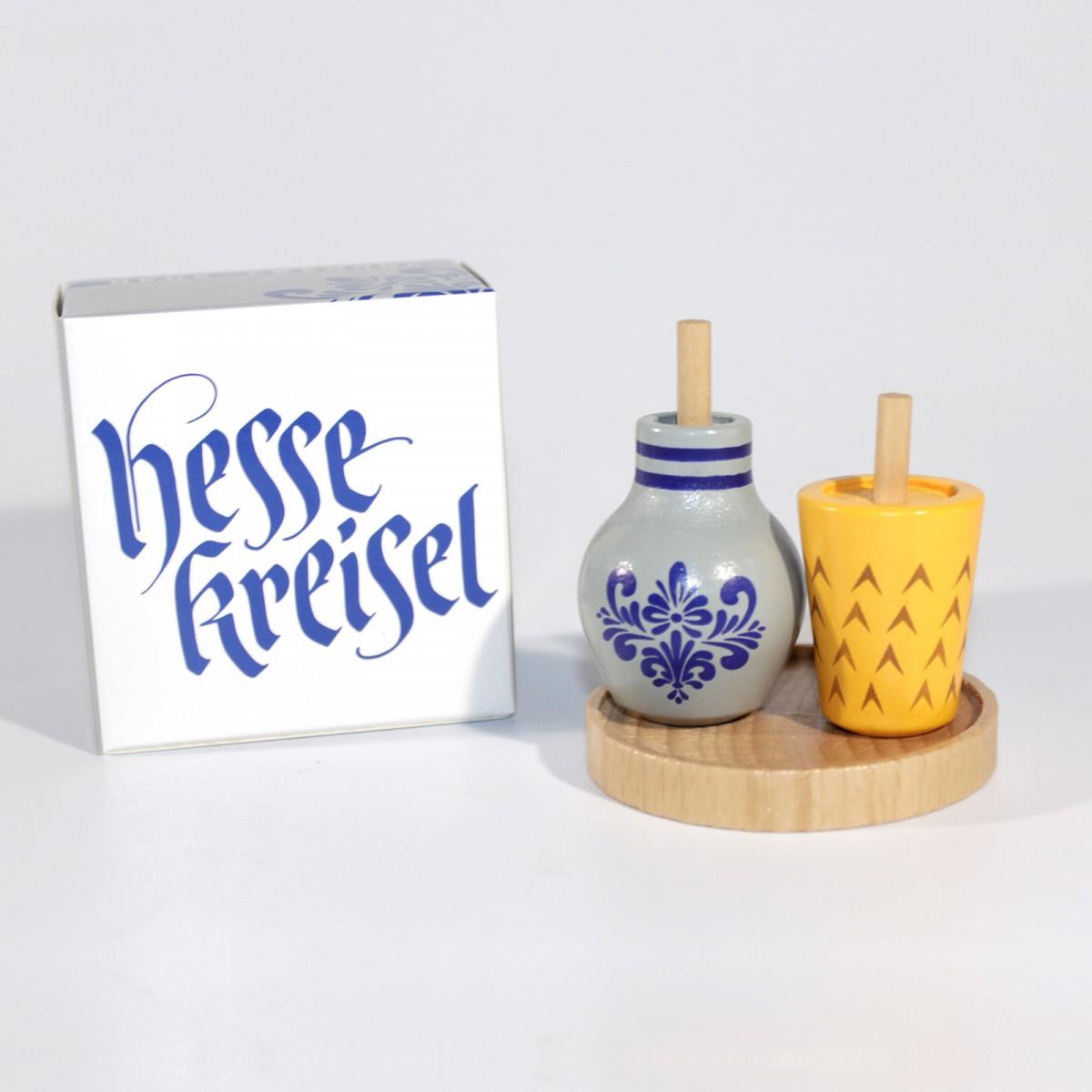 Hesse Kreisel - Bembel und Geripptes als Kreisel - von Neue Freunde