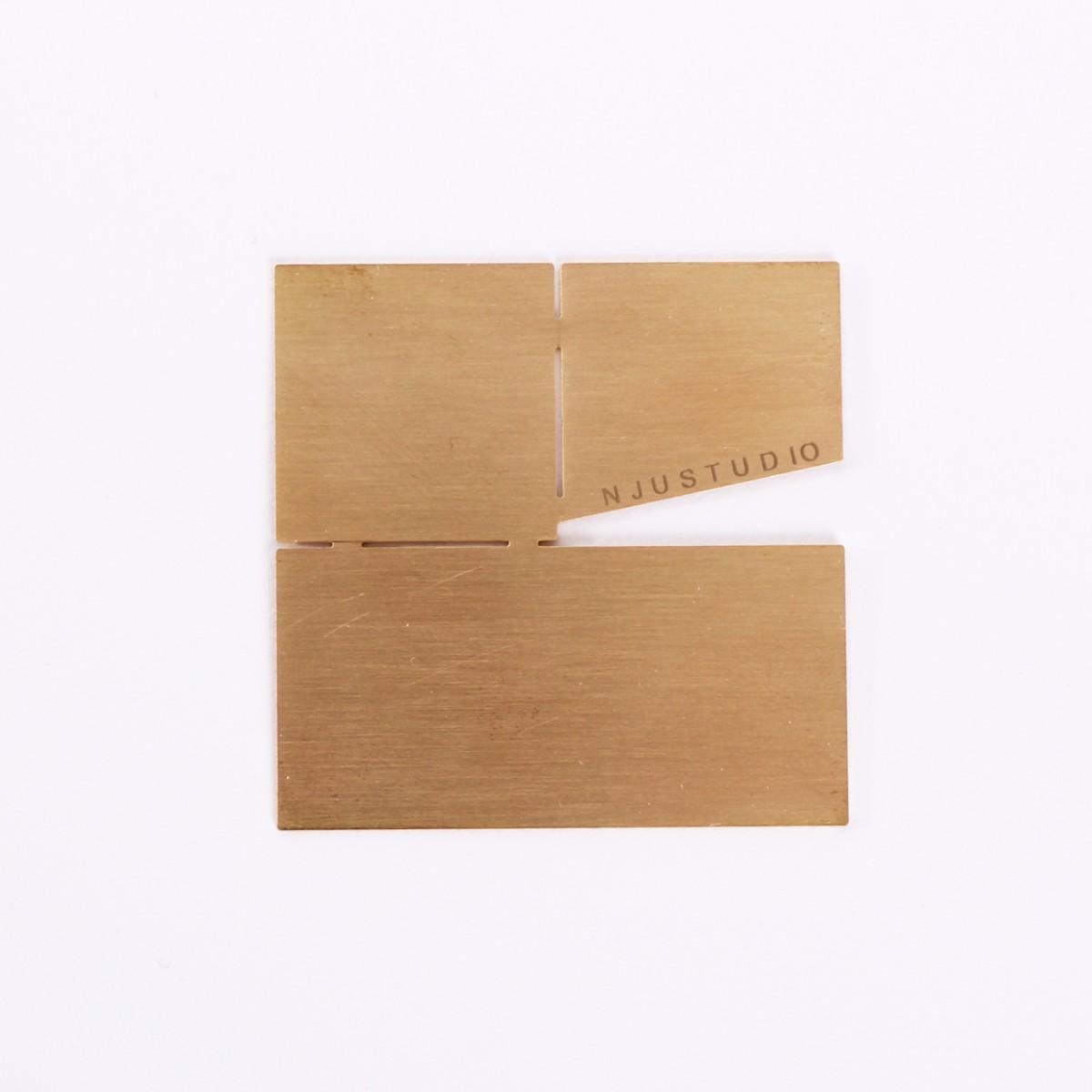 Njustudio Geometrischer Tischschmuck HOLD Square