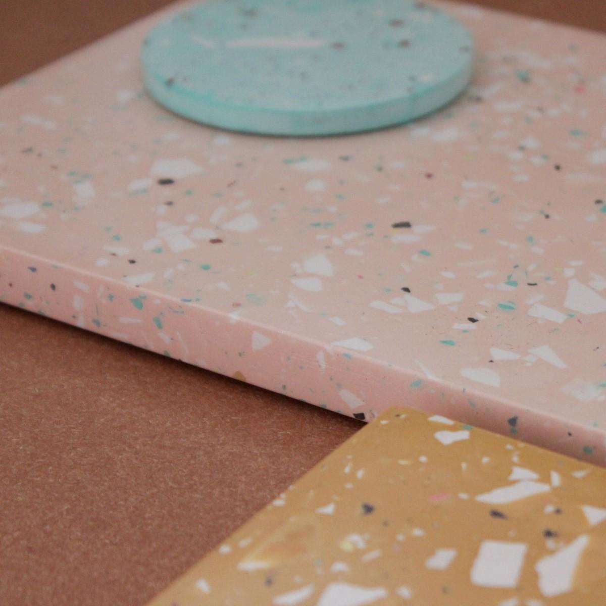 Terrazzo Tablett / Skin / objet vague