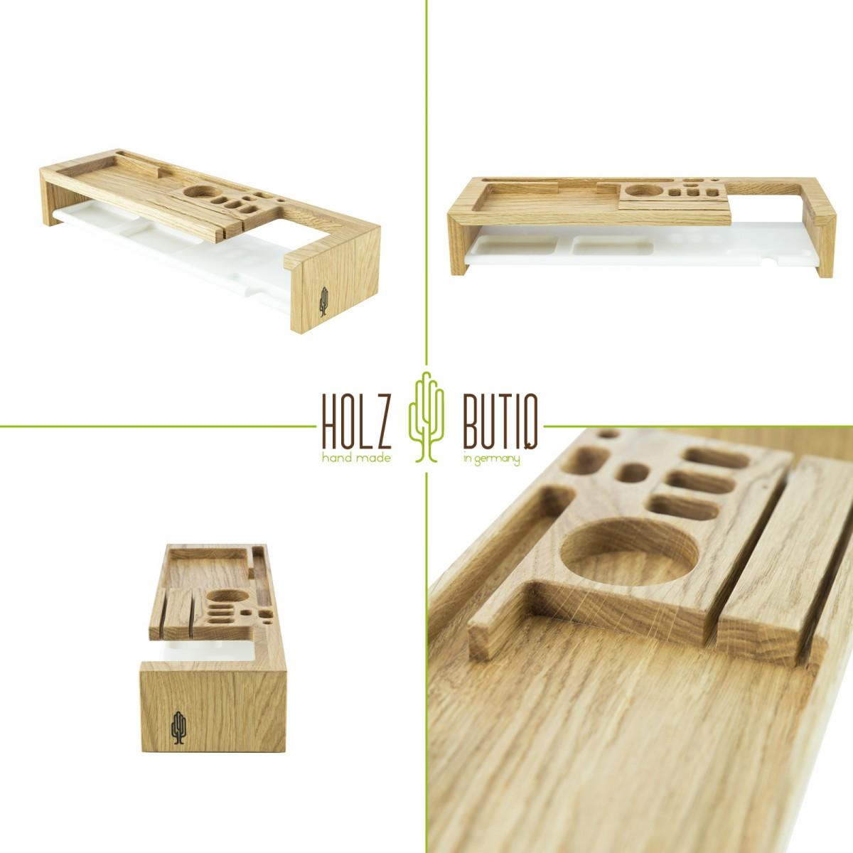 Office Organizer klipo, Büro Organizer aus Holz | Schreibtisch Ordnungssystem
