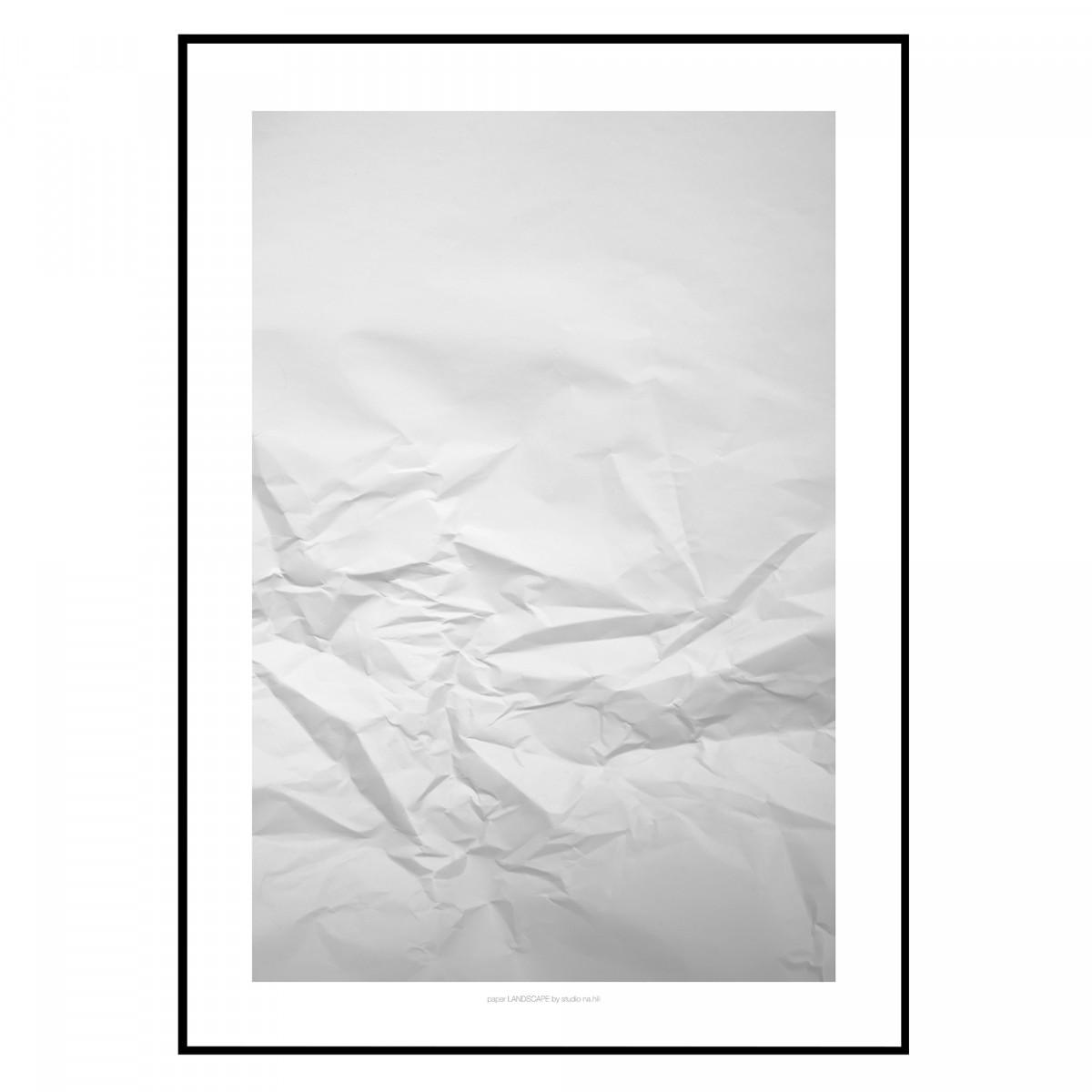 paper LANDSCAPE & GRID Artprint Set A3 Poster