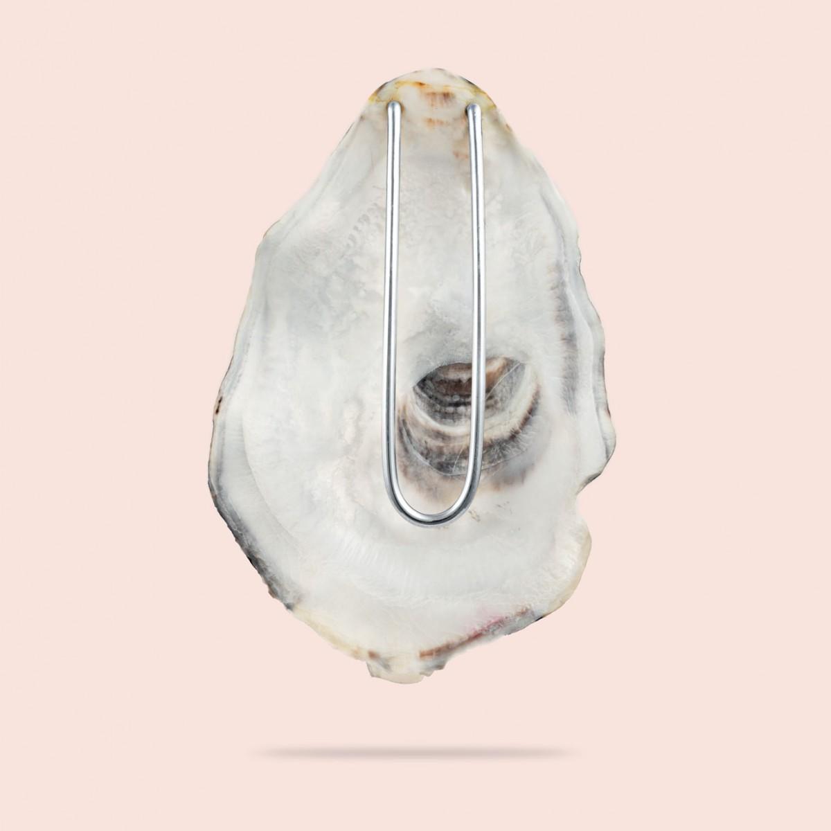 pearly brooch - 925 Sterlingsilber
