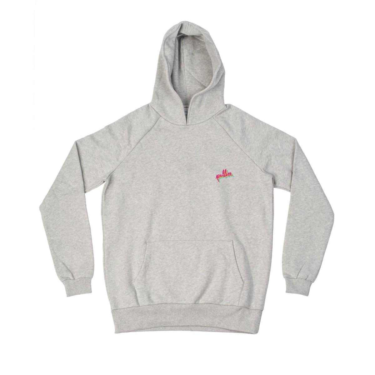 pellim. dizzy. hoodie grau