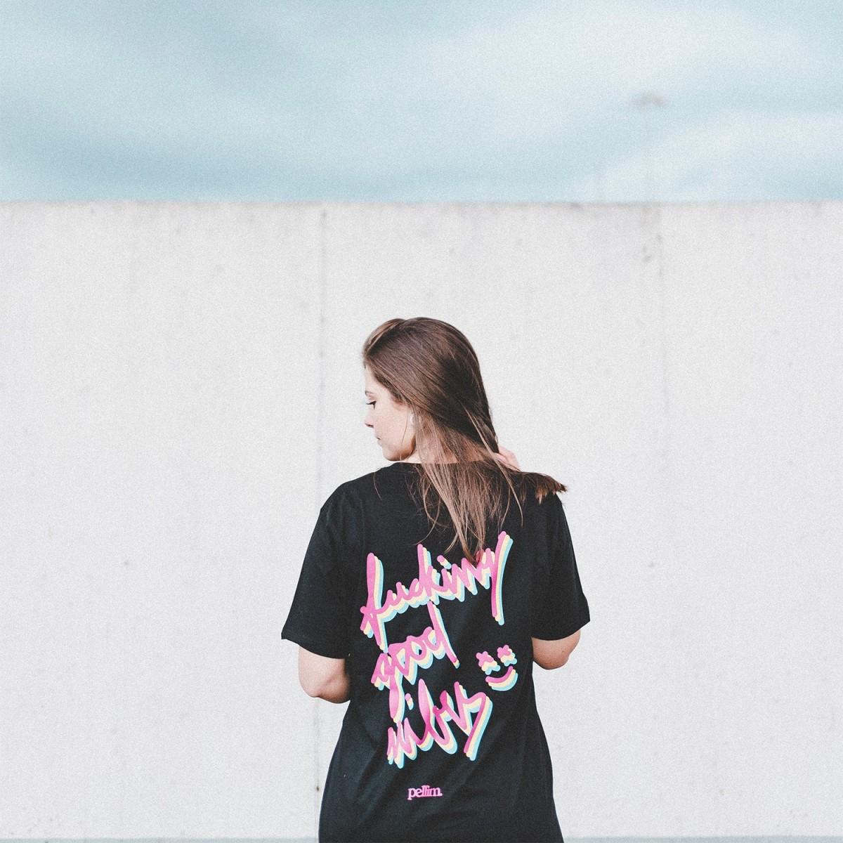 pellim. dizzy shirt black