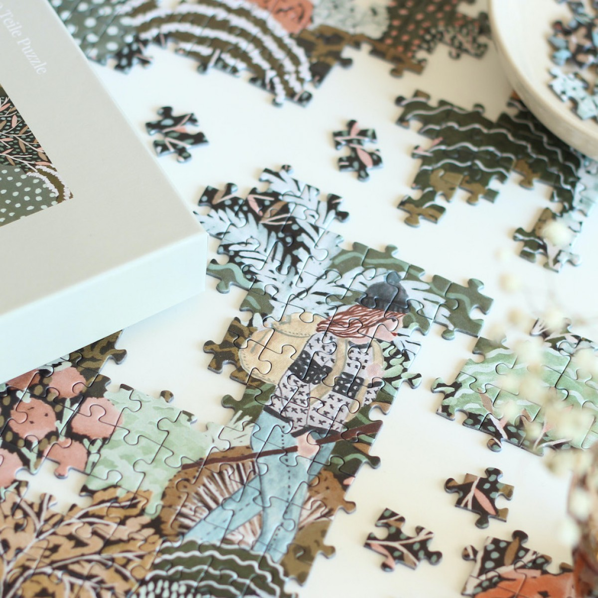 Piecely Fall Hikes Puzzle, 500 Teile