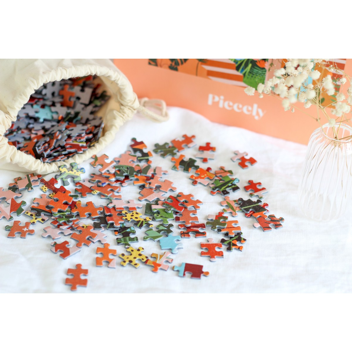 Piecely Feline Kingdom Puzzle, 1000 Teile