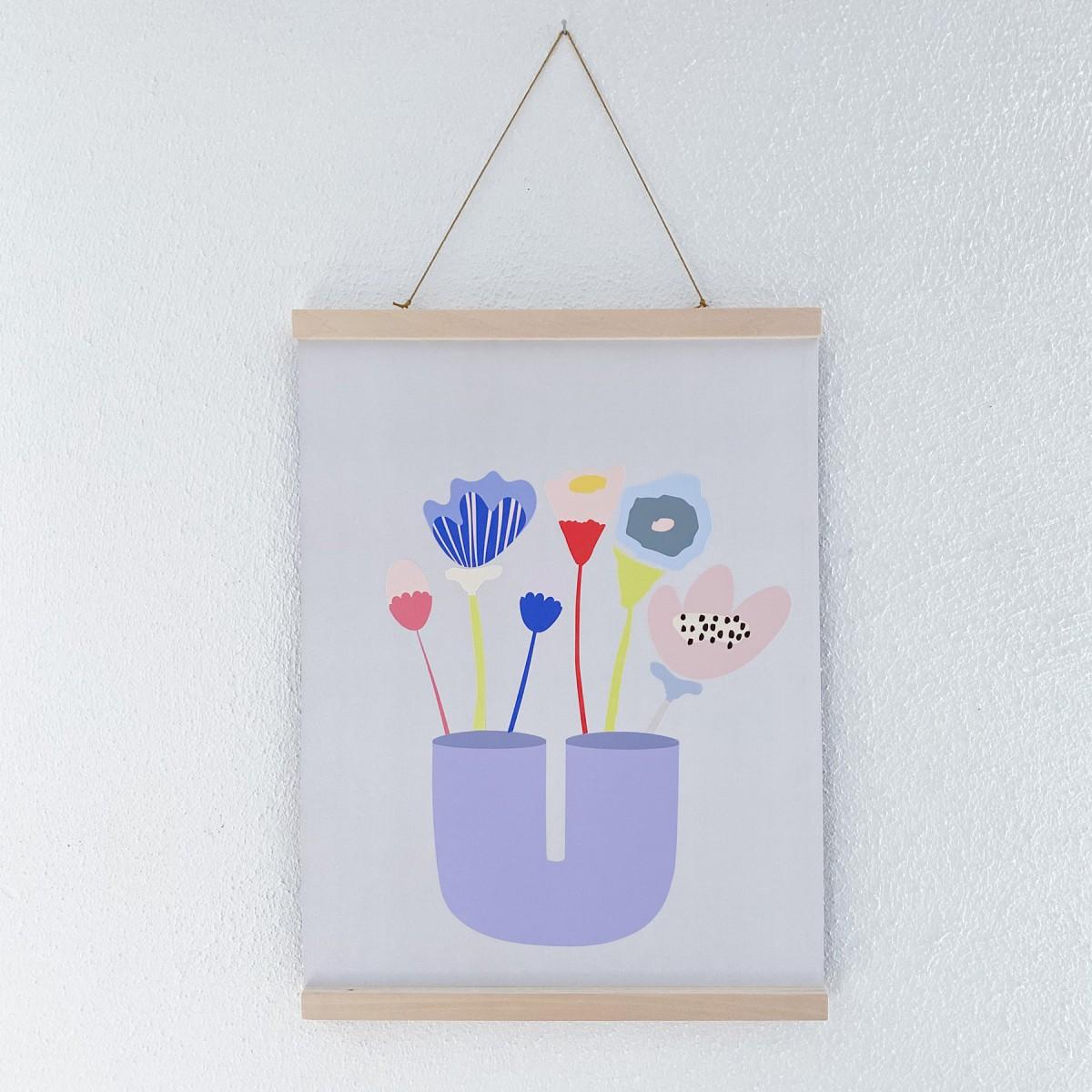 """Pimpad Sticker Set """"Spring/Summer"""" (2 Bögen Aufkleber, umweltfreundlich, wiederverwendbar)"""